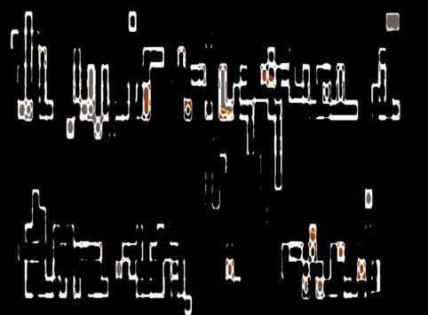 Pristowscheg.La estética de la palabra.Perspectivas cromáticas.Abstract Art.Digital Art.IL MIO VIAGGIO È STARE QUI. 71x96 cm | 28x38  in