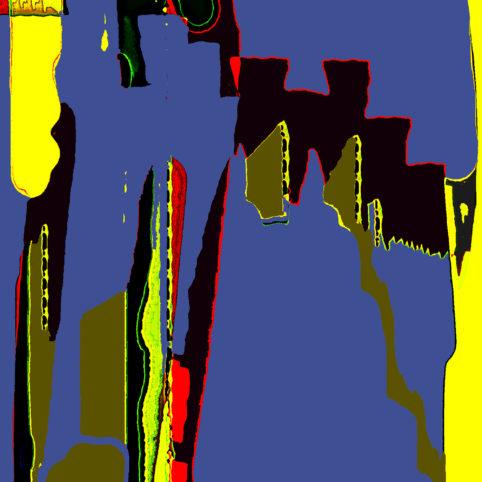Pristowscheg.Punto y coma.Perspectivas cromáticForma cuadrada. 76x76 cm | 30x30 in