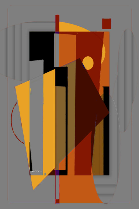 Pristowscheg.Terro.Perspectivas cromáticas.Abstract Art.Digital Art.Palio. 121x81 cm | 48x32 in