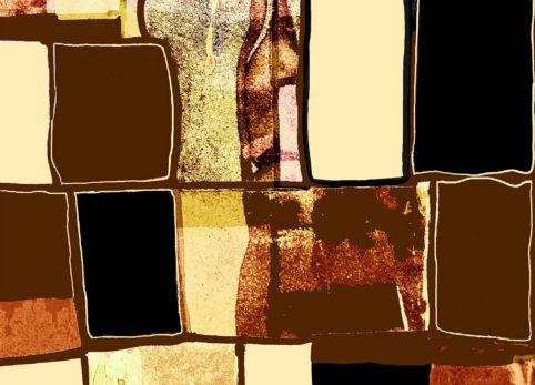 Pristowscheg. Digital Art. Abstract Art. Acuarela psicodélica 91x127 cm | 36x50 in