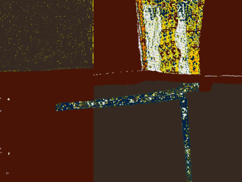 Pristowscheg. Digital Art. Abstract Art. Arabesco psicodélico 76x101 cm | 30x40 in