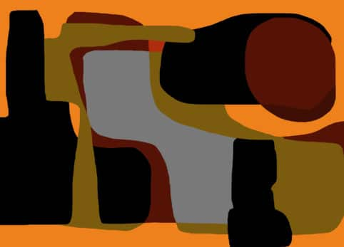 Pristowscheg. Digital Art. Abstract Art. Bodegón 91x127 cm | 36x50 in
