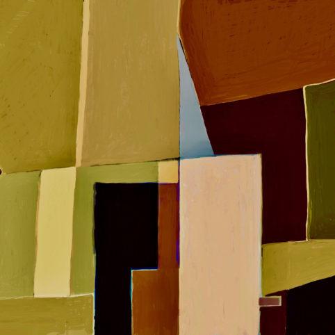 Pristowscheg. Digital Art. Abstract Art. Finse 91x91 cm | 36x36 in