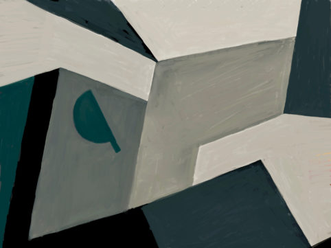 Pristowscheg. Digital Art. Abstract Art. Imago 72x96 cm | 28,45x37,95 in