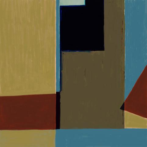 Pristowscheg. Digital Art. Abstract Art. NUBUQO 91x91 cm | 36x36 in