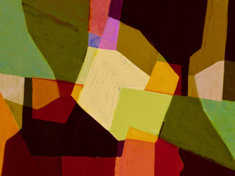 Pristowscheg. Digital Art. Abstract Art. Paisaje 76x101 cm | 30x40 in