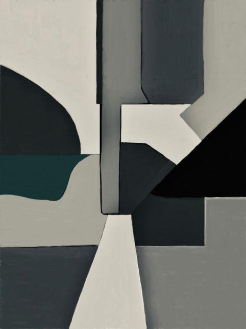 Pristowscheg. Digital Art. Abstract Art. Routitt 76x57 cm | 30x22,5 in