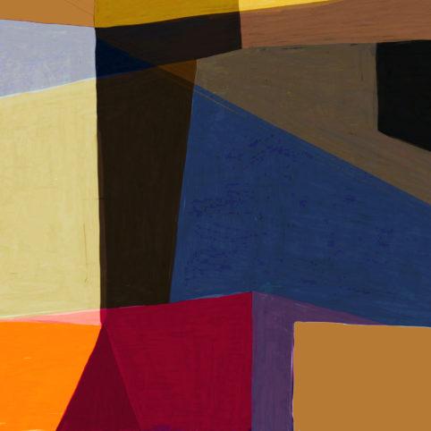 Pristowscheg. Digital Art. Abstract Art. Tema  91x91 cm | 36x36 in