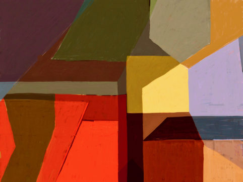 Pristowscheg. Digital Art. Abstract Art. Tema 76x101 cm | 30x40 in