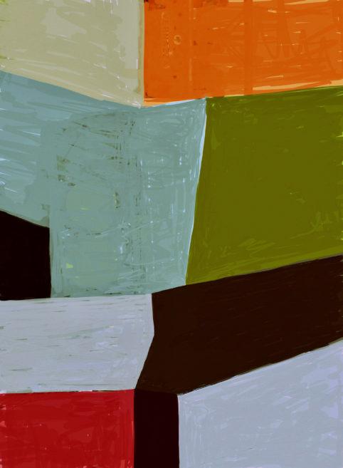 Pristowscheg. Digital Art. Abstract Art. Tema 76x56 cm | 30x22 in