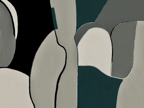 Pristowscheg. Digital Art. Abstract Art. FORMAS 76x101 cm | 30x40 in
