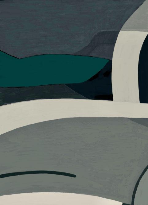 Pristowscheg. Digital Art. Abstract Art. Tepuy 91x66 cm | 36x26 in