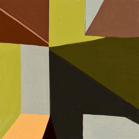 Pristowscheg. Digital Art. Abstract Art. Impromtu 91x91 cm | 36x36 in