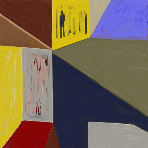 Pristowscheg. Digital Art. Abstract Art. IMPROMPTU 100x100 cm | 40x40 in