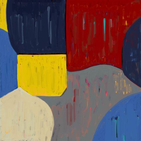 Pristowscheg. Digital Art. Abstract Art. TEMA 76x76 cm | 30x30 in