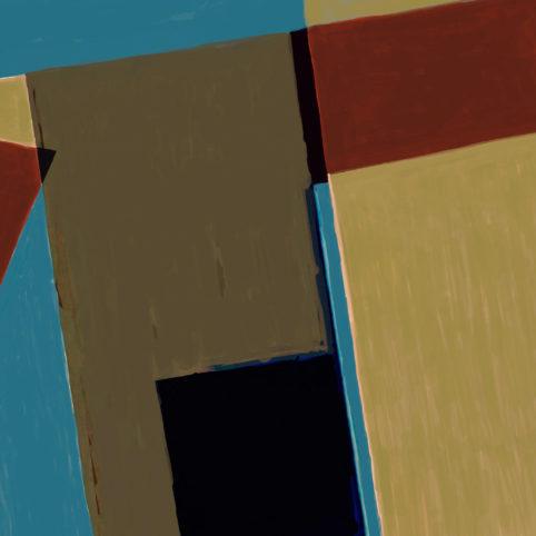 Pristowscheg. Digital Art. Abstract Art. NUBUQO 90x90  cm | 36x36 in