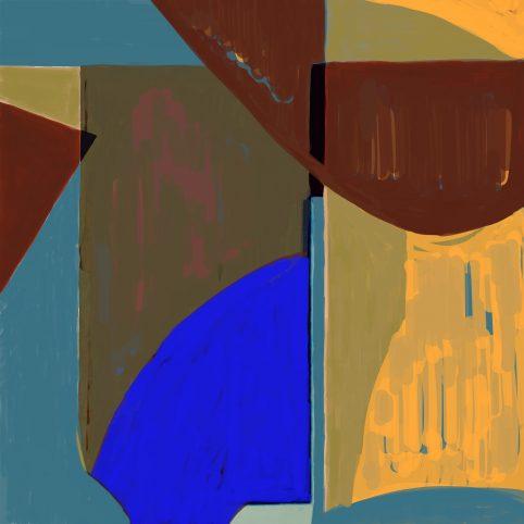 Pristowscheg. Digital Art. Abstract Art. NUBUQOVAR 100x100 cm | 40x40 in