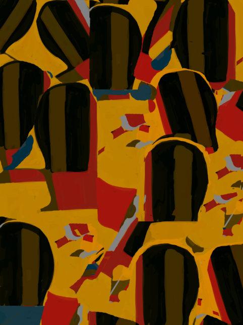 Pristowscheg. Digital Art. Abstract Art. Aureliano Centeno Aureliano Serrador Aureliano Amador Aureliano Arcaya Aureliano Triste 100x75 cm | 40x30 in